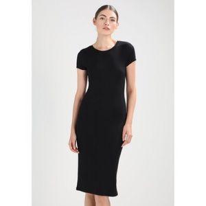 Club Monaco Black Jacquetta Knit Dress